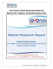 Asia-Pacific Dental Restorative Materials Market 2017 Industry Trend and Forecast 2022.pdf