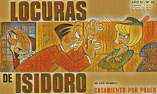 LOCURAS DE ISIDORO Nº18 (Dic.1969) CASAMIENTO POR PODER.cbz
