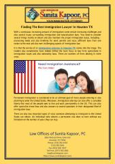 Finding The Best Immigration Lawyer In Houston TX.pdf