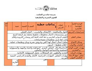 الوحدة الثانية الصف السادس الدرس الثاني الخط العربي - Copy.docx