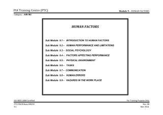Module 9 (Human Factors) Sub Module 9.1 (INTRODUCTION TO HUMAN FACTORS) _Rev 1_Sep 2013.pdf