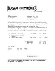 Presupuesto  No. 8013.  Cambio de Hembrillas y Baterías.doc