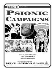 GURPS 4th - Psionic Campaigns.pdf