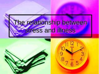The Relationship Between Stress and Illness.ppt