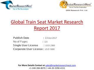 Global Train Seat Market Research Report 2017.pdf