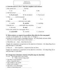 answer of test 15' U3.doc