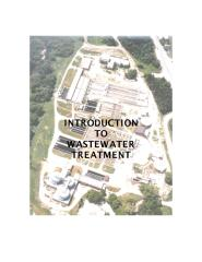 Introduction to Wastewater treatment.pdf