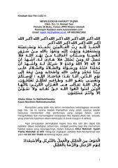 khutbah idul fitri 1431 h.doc