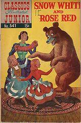 Classics Illustrated Junior #541 Snow White & Rose Red.cbr