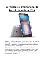 60 million 4G smartphones to be sold in India in 2019.pdf