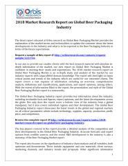 2018 Market Research Report on Global Beer Packaging Industry.pdf
