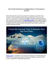 Why The Best Clone Scripts Are Mightiest Boon For The Ecommerce Startups.pdf