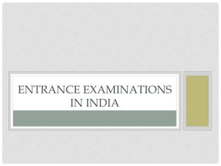 Entrance Examinations in India1.pdf