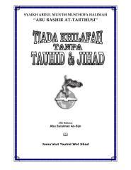 syaikh abu bashir at-tarthusi - tiada khilafah tanpa tauhid & jihad.pdf