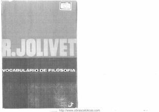 Vocabulário de Filosofia - Regis Jolivet.pdf