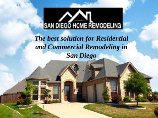 San Diego Home Remodeling Contractors.pptx