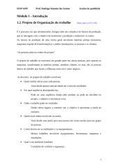 Aula 2 - Módulo I - Projeto de organização do trabalho.doc