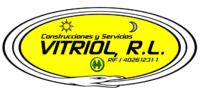 Logo Vitriol R l sello Oficial Tarjetas gif